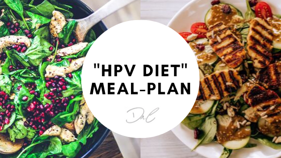 HPV Diet 3 Day Meal-Plan